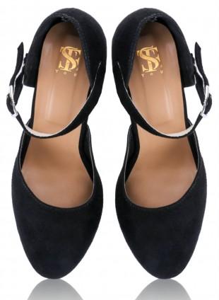 Black Block Heels - StyleCracker