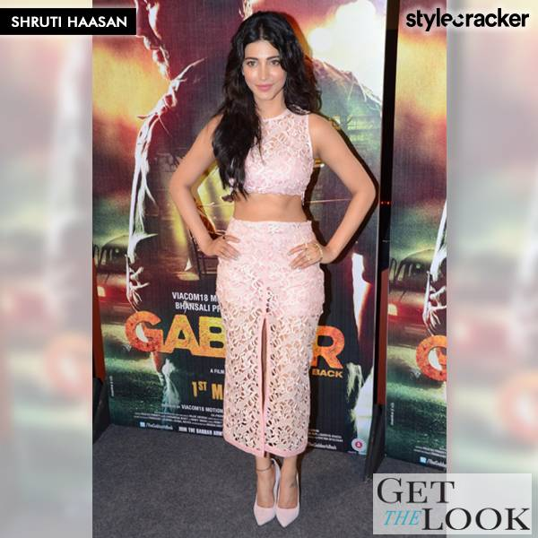 GetTheLook ShrutiHaasan - StyleCracker