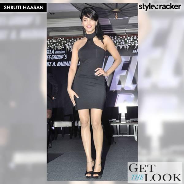 GetTheLook ShrutiHaasan - StyleCracker
