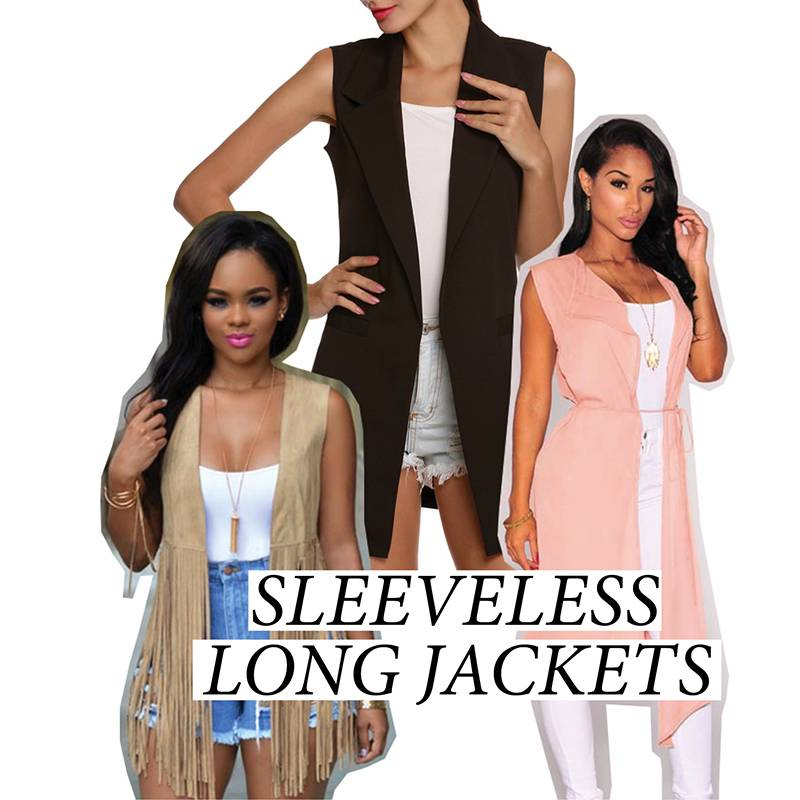 ResortWear Trends LongSleevelessJackets - StyleCracker