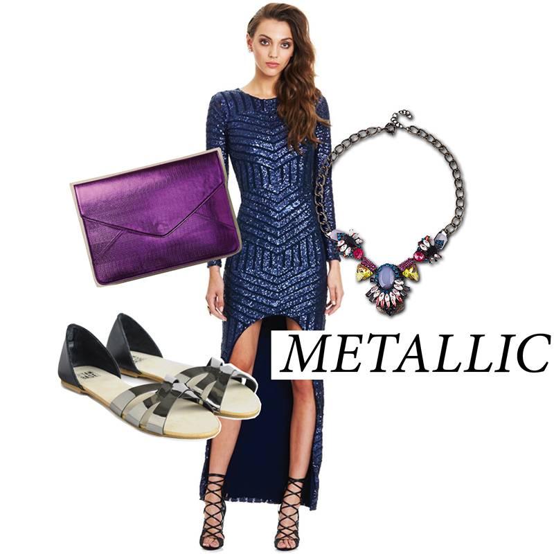 ResortWear Trends Metallic - StyleCracker