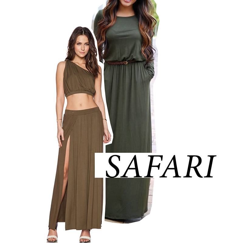 ResortWear Trends Safari - StyleCracker