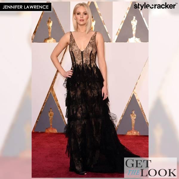 GetTheLook JenniferLawrence Oscars2016 - StyleCracker