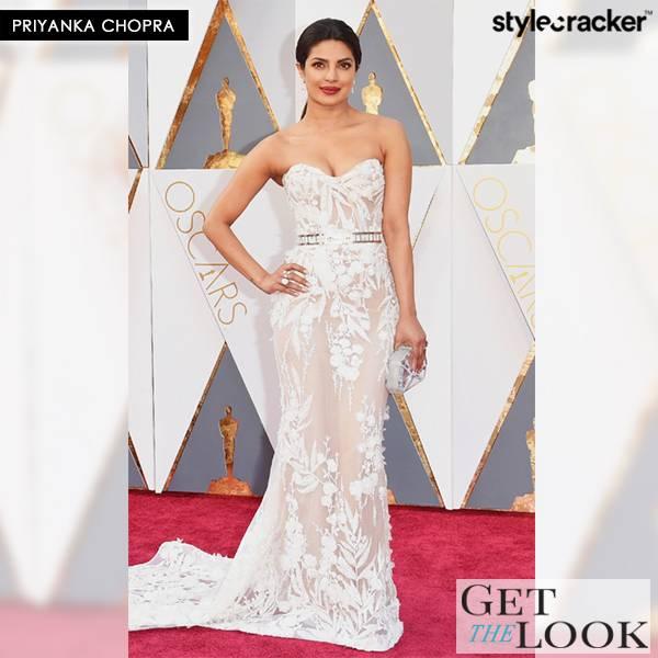 GetTheLook PriyankaChopra Oscars2016 - StyleCracker