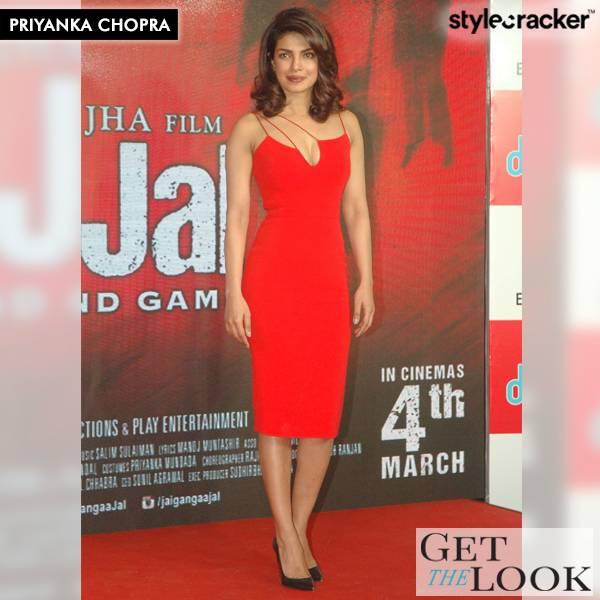 GetTheLook PriyankaChopra Gangajal Promotions  - StyleCracker