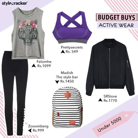 BudgetBuys Activewear  - StyleCracker