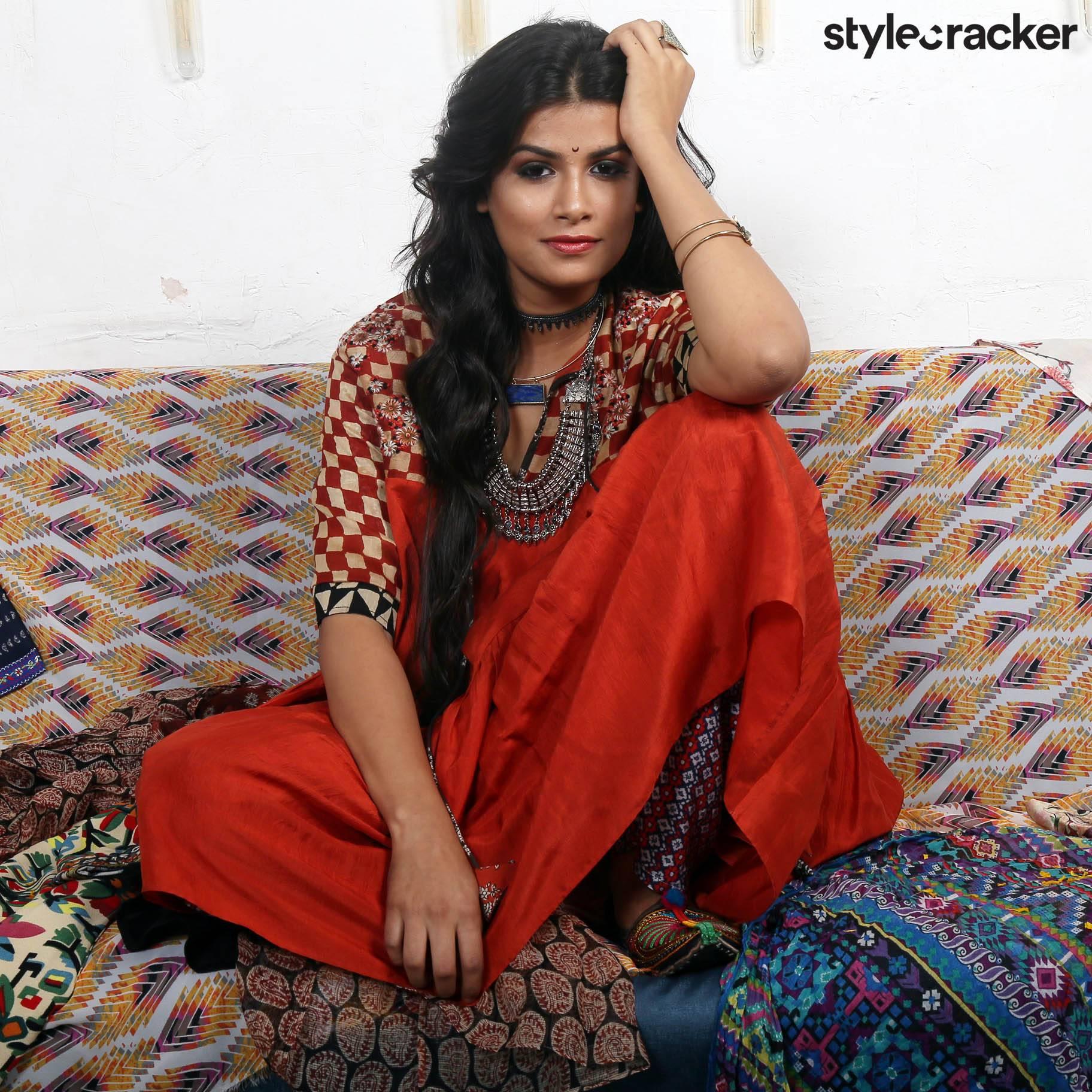 GetTheLook Gudipadwa Warmcolors Trend Indian - StyleCracker