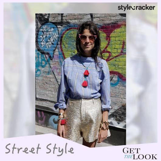 GETTHELOOK TRENDALERT STREETSTYLE REVERSEBACK BUTTONDOWN SHIRT - StyleCracker