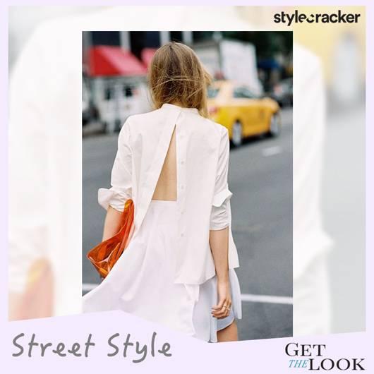 GetTheLook StreetStyle TrendAlert ReverseBack ButtonDown Shirt - StyleCracker