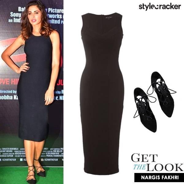 GetTheLook NargisFakhri Azhar - StyleCracker