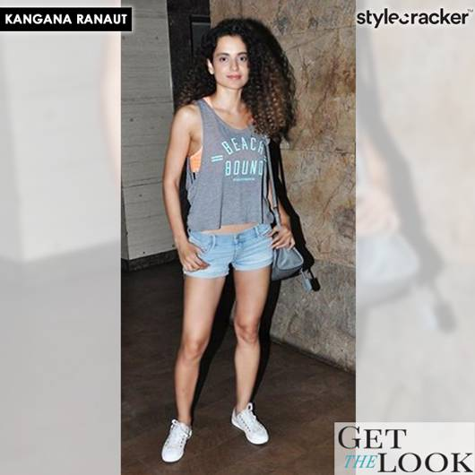 GetTheLook KanganaRanaut CelebStyle - StyleCracker