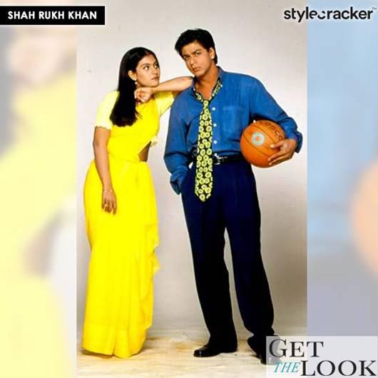 Getthelook Shahrukhkhan karanjoharmovie kuchkuchhotahai - StyleCracker