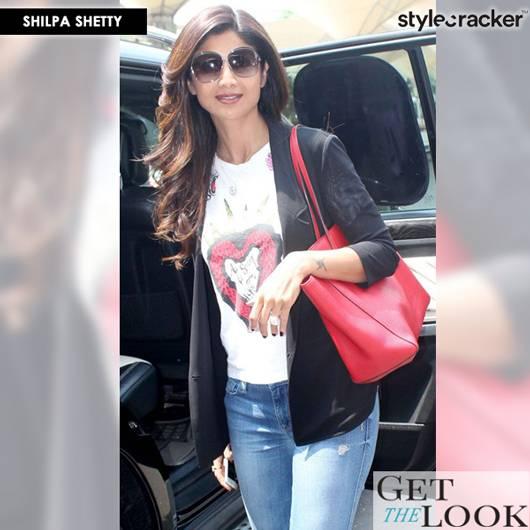 GetTheLook CelebStyle ShilpaShetty - StyleCracker