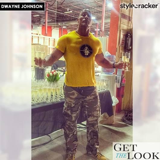 GetTheLook CelebStyle DwayneJohnson - StyleCracker