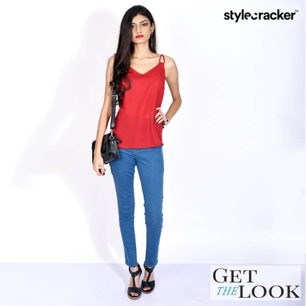 GetTheLook Cami Jeans Night  - StyleCracker