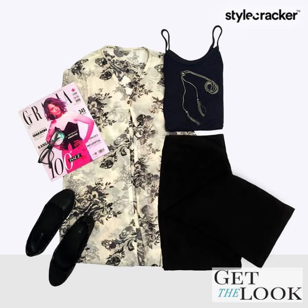 GetTheLook Ootd IndoWestern - StyleCracker
