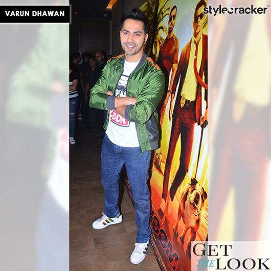 GetTheLook VarunDhawan Dishoom - StyleCracker