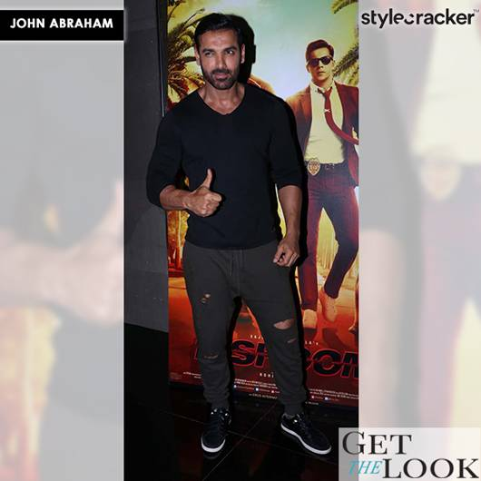 GetTheLook JohnAbraham Dishoom - StyleCracker