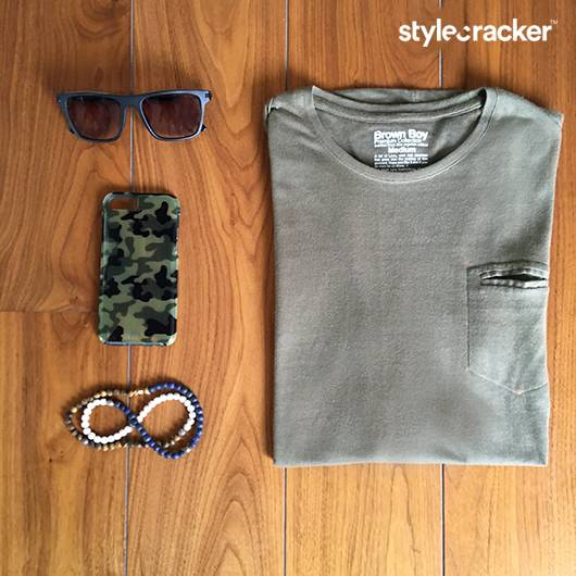 Military Camouflage Beads Trending Flatlay - StyleCracker