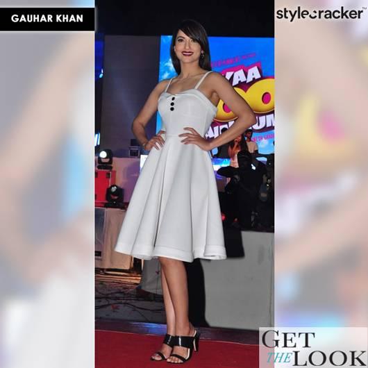 GetTheLook CelebStyle GauharKhan - StyleCracker