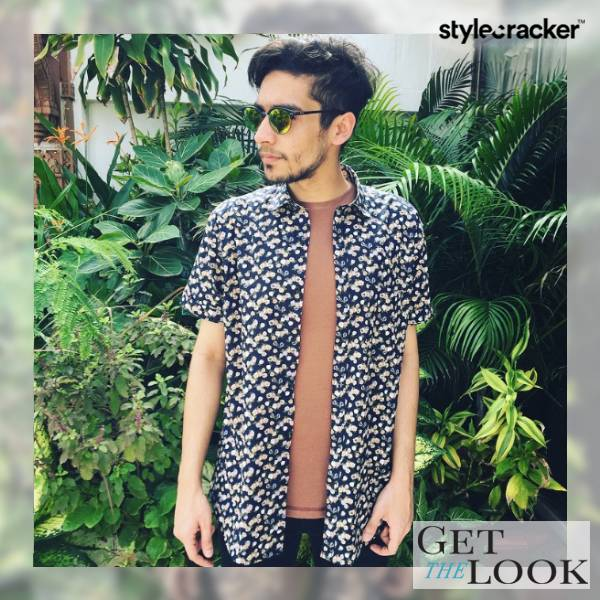 Floral Casual Layer Tropical  - StyleCracker
