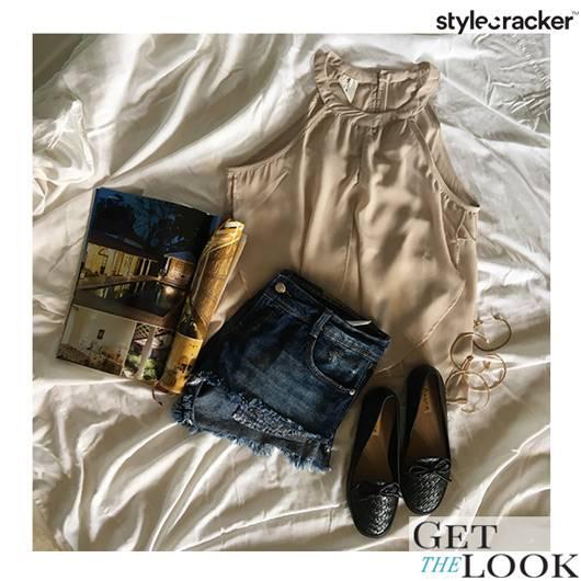 Casual DayOut Beige Outdoor  - StyleCracker